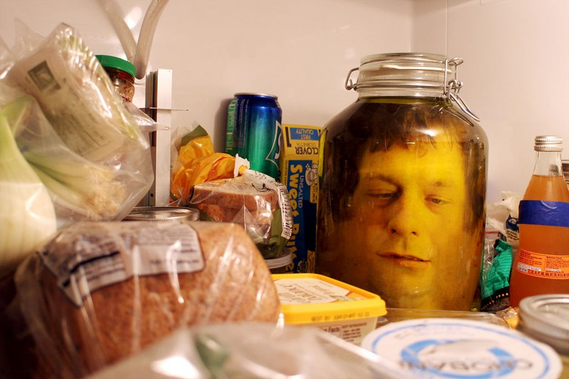 Freaky Head in a Jar