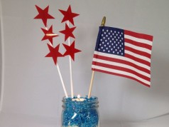 Patriotic Table Decoration