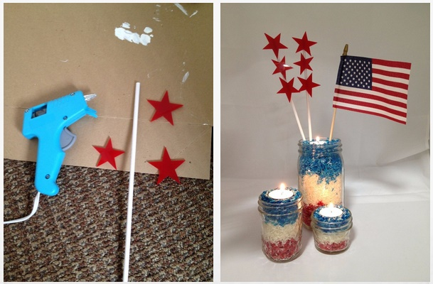 Patriotic Table Decoration