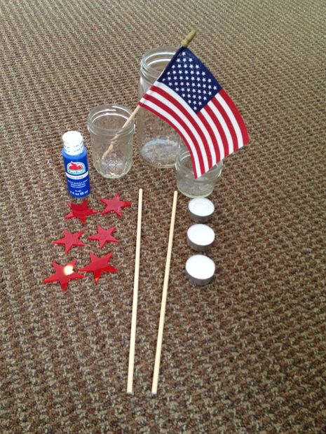Patriotic Table Decoration5