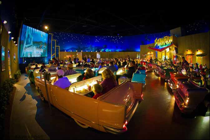 Sci-Fi Dine In Theater, Disneys Hollywood Studios