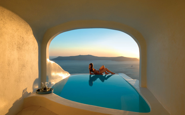 Sun Rocks Hotel, Santorini, Greece