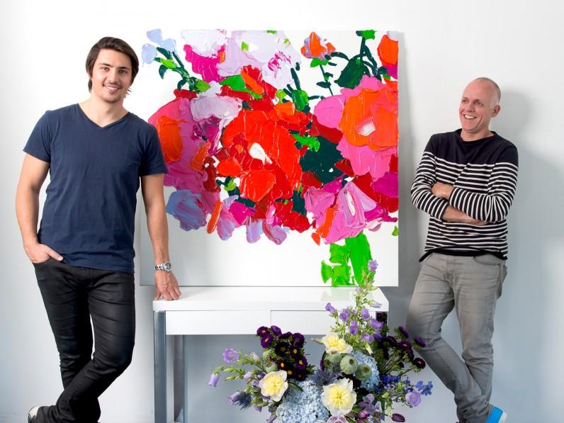 beautiful flower painting1