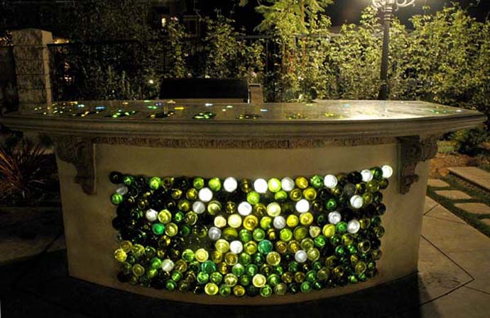 Amazing Ideas of How to Recycle Wine Bottles Wisely