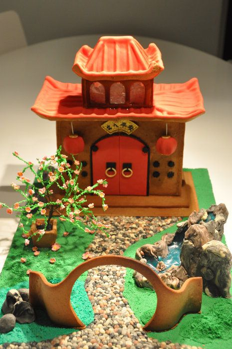 Amazing chinese style cakes page 5 of 20 for Japanese themed garden ideas