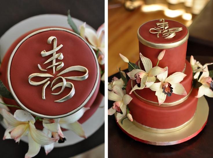 Chinese Cake Happy Bday