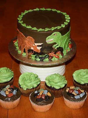 Dino Train Birthday Cake