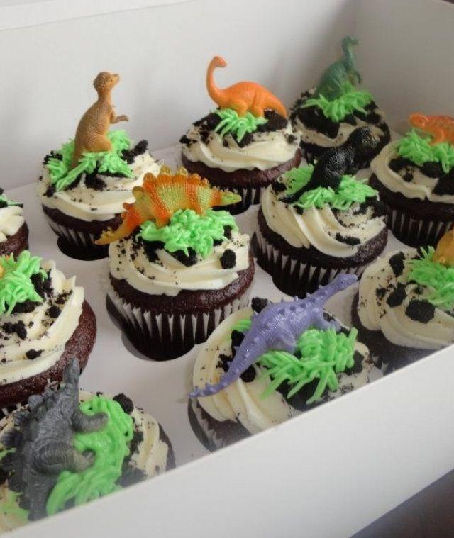 Dinosaur Cupcake Ideas