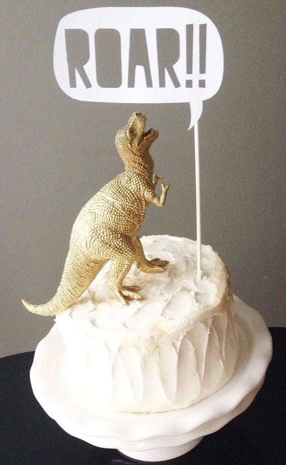 Dinosaur with ROAR Talking Bubble