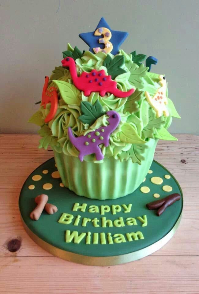 Fantastic Dinosaur Cupcake