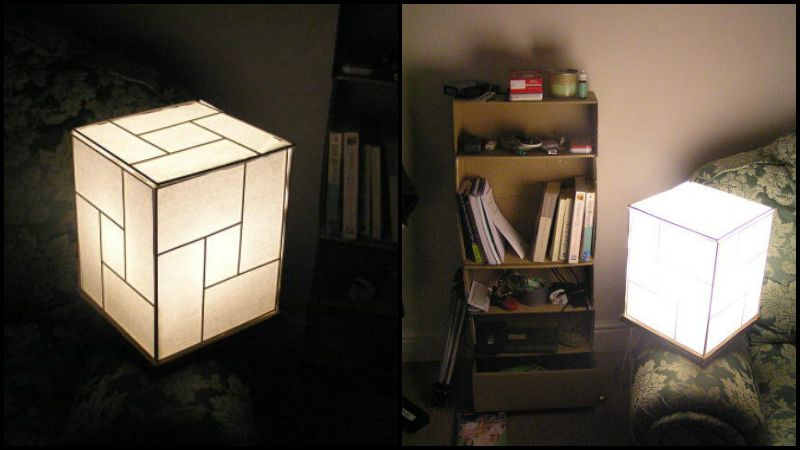 Make your own Japanese Lamp