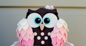Pretty Owl Cake