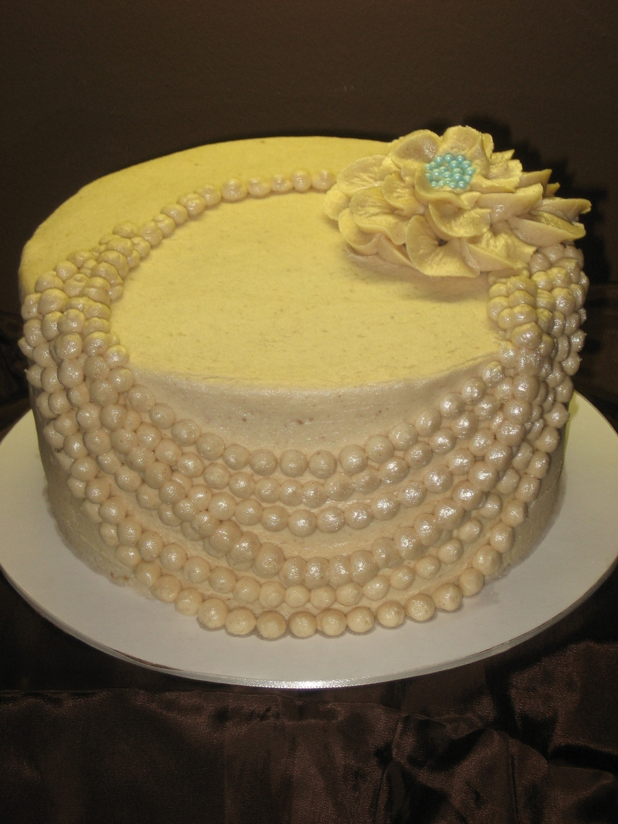 Art I Cake Jewelry Ideas : Top 30+ Cakes with Elegant Pearls - Page 10 of 40