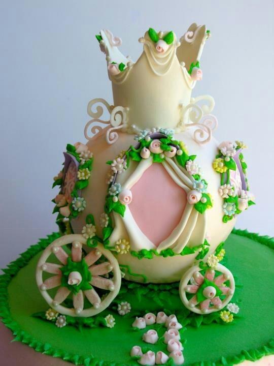 Princess Ride Cake