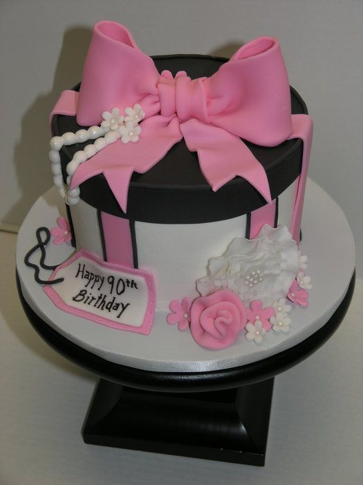 Fantastic and stunning gift cakes page 6 of 40 round gift box cake negle Image collections
