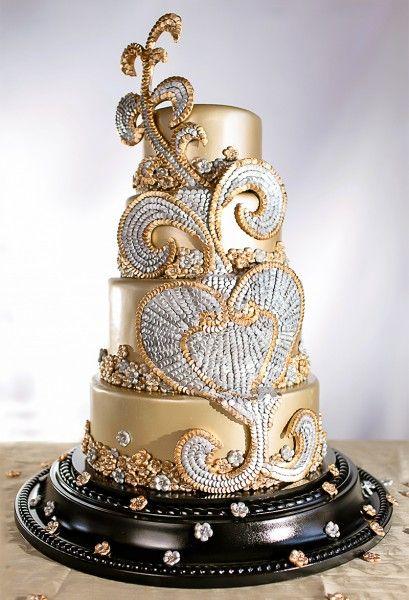 Shinning Shimmering Cake