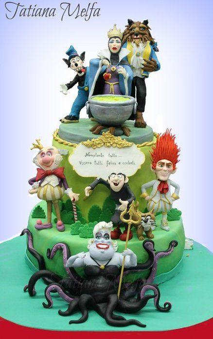 The Bad Cake - Disney Villains
