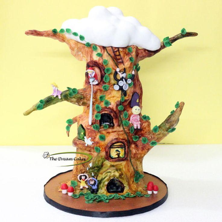 The Magic Faraway Tree - Cake by Ashwini Sarabhai