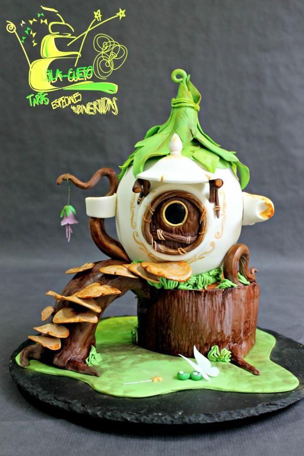 Tinkerbell Teapot House - Casa-Tetera de Campanilla