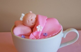 Sleep Baby in Cup