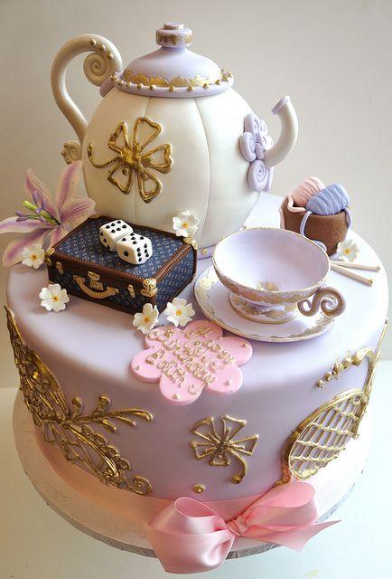 Adorable Teapot Cake