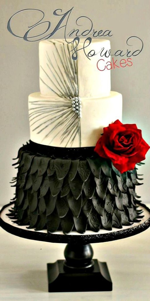 Amazingly Styled Wedding Cake