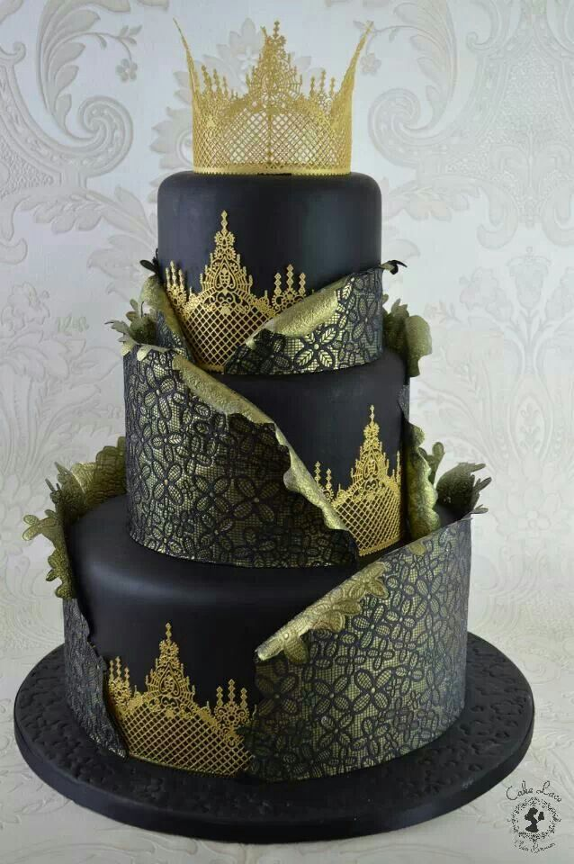 Super Cool And Stunning Black Cakes Page 9 Of 37