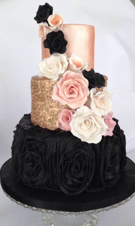 Super Cool and Stunning Black Cakes Page 11 of 37