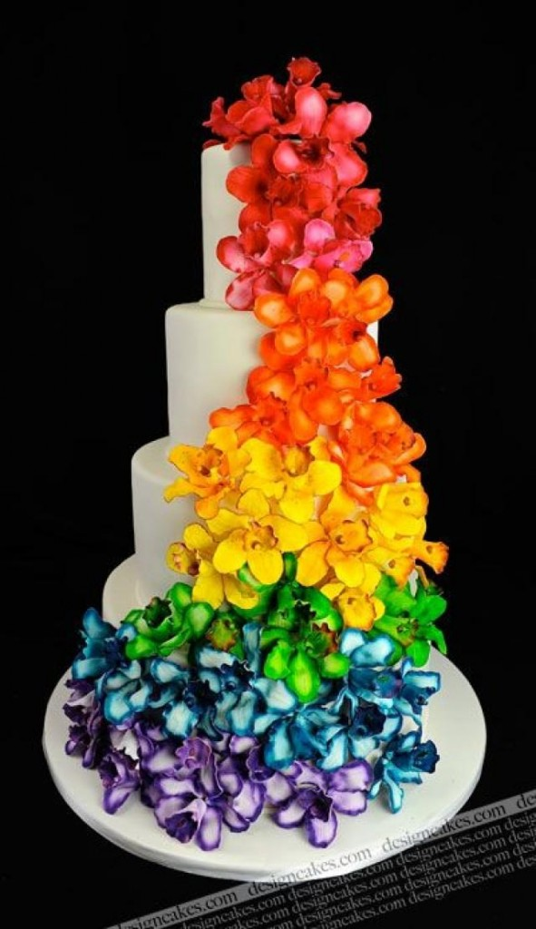 Happy Gay Wedding Cake