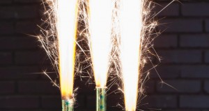 Festive Cake Sparklers