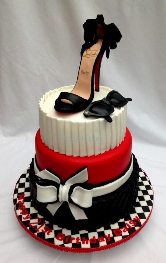 Birthday Cakes Shoes And Purses