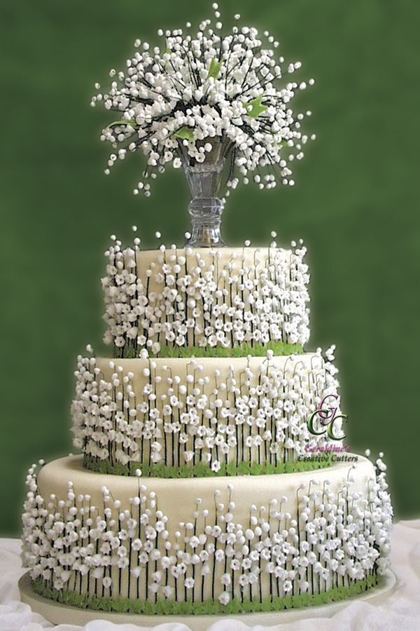 lily of the valley wedding cake toppers top most wedding cakes page 9 of 62 16888