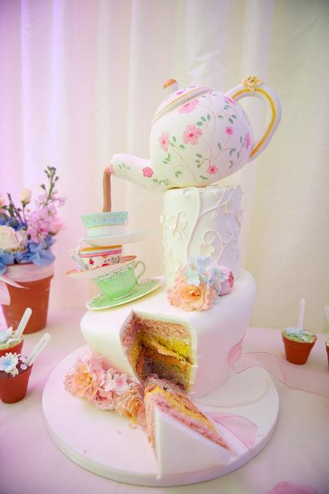 Tea Cake Pops Stand Ideas