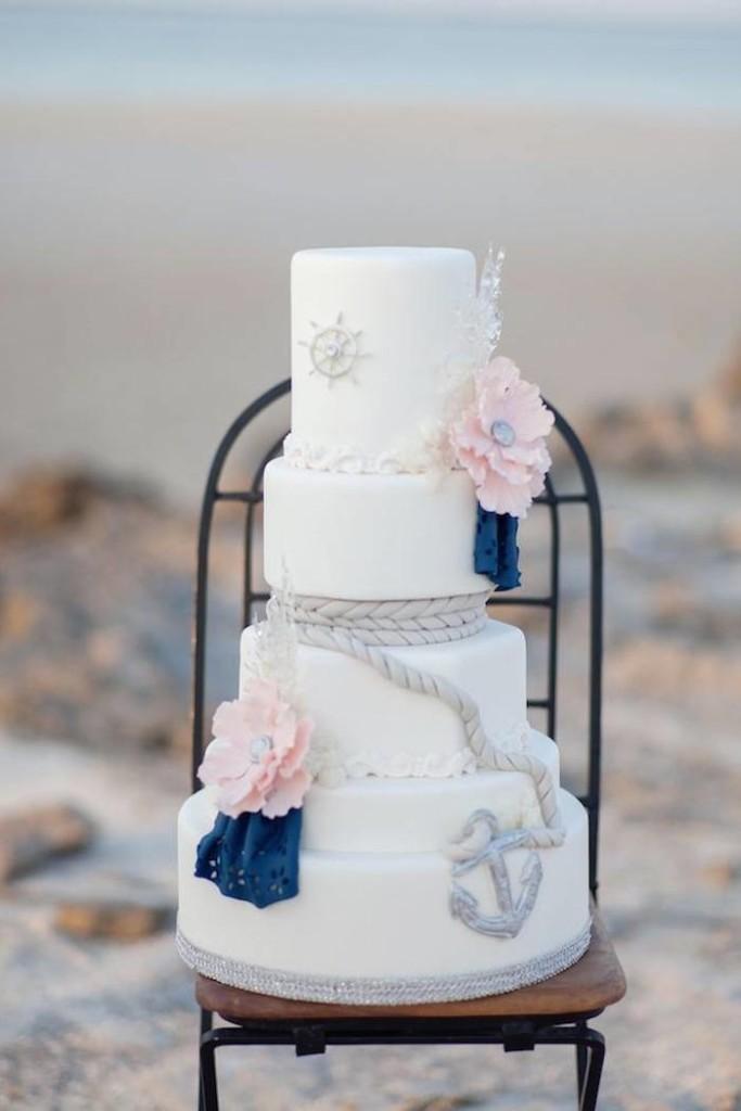 The Wedding Theme Cake