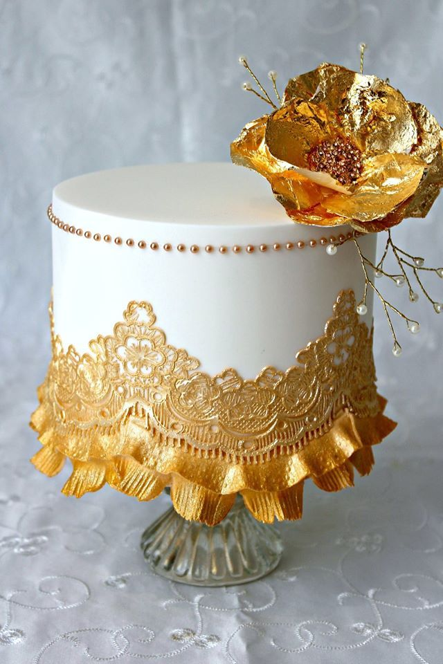 Top 20 Beautiful Cakes With Wonderful Laces Page 3 Of 20
