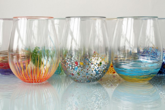 How To Make Your Plain Glassware POP With Color