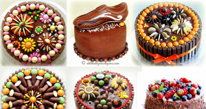 Super Enticing and Amazingly Designed Chocolate Cakes