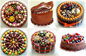 Super Enticing and Amazingly Designed Chocolate Cakes